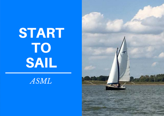 Start to Sail ASML