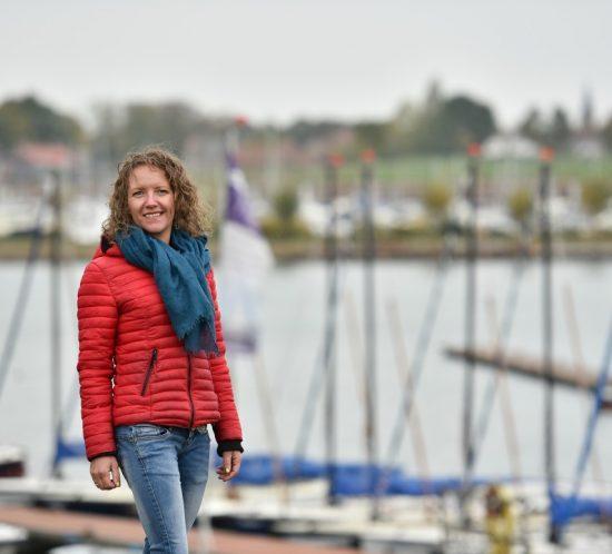Anneke Crijns eigenaresse Sailcenter Limburg